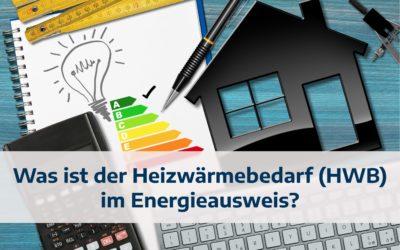 Was ist der Heizwärmebedarf (HWB) im Energieausweis